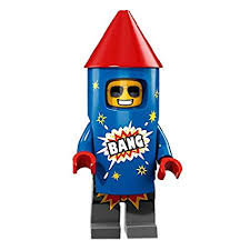 Firework Guy - LEGO Series 18 Collectible Minifigure