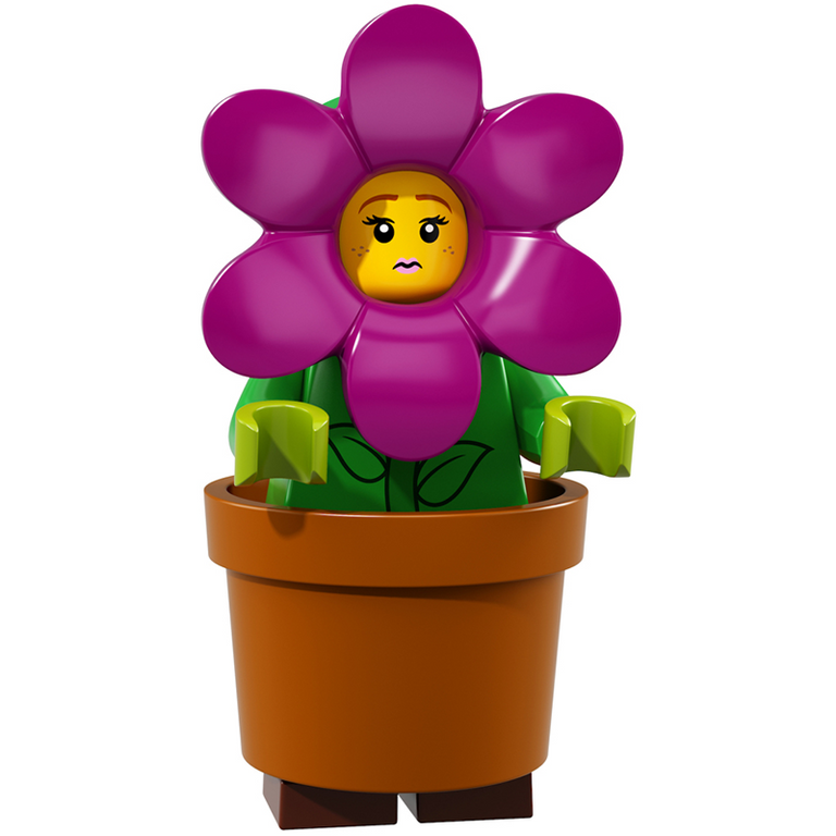 Flower Pot Girl - LEGO Series 18 Collectible Minifigure