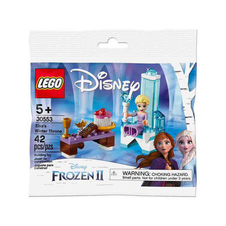 LEGO Frozen II Elsa's Winter Throne Polybag Set (30553)