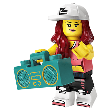 Hip Hop Girl - LEGO Series 20 Collectible Minifigure