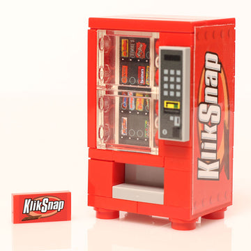 Custom LEGO Klik Snap Candy Bar Vending Machine