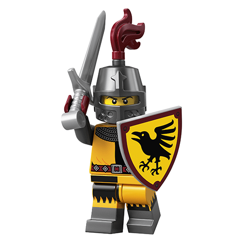 Knight - LEGO Series 20 Collectible Minifigure