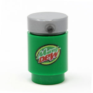 Custom LEGO® Making Dew Soda Can