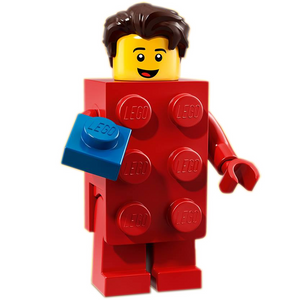 Brick Suit Guy - LEGO Series 18 Collectible Minifigure