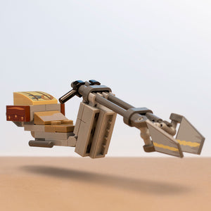 Mobquet Zephyr-J Speeder Bike (The Mandalorian) - Custom LEGO Star Wars Set
