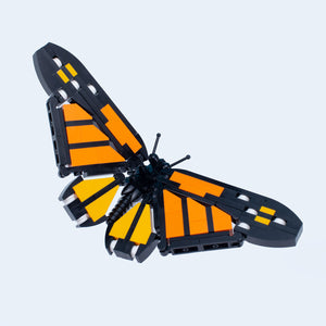 Monarch Butterfly - Custom LEGO Building Set