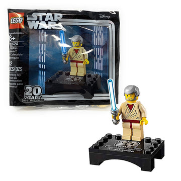 Obi-Wan 20th Anniversary Minifigure - LEGO Star Wars Polybag Set (30624)