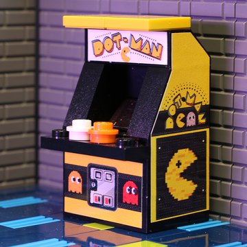 Custom LEGO Dot-Man Arcade Machine