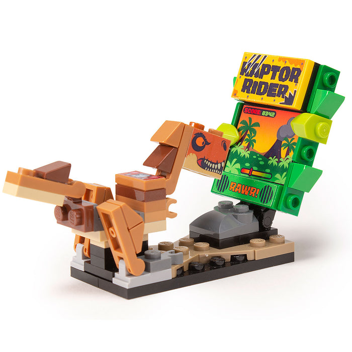 Raptor Rider - Custom LEGO Arcade Game