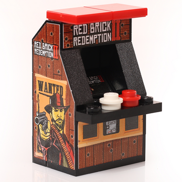 Red Brick Redemption II - Custom LEGO Arcade Machine