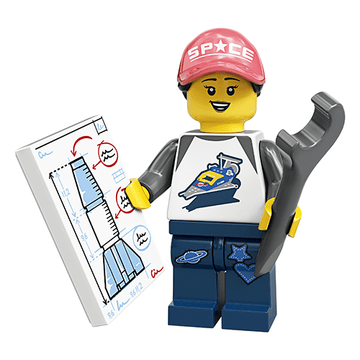 Rocket Girl - LEGO Series 20 Collectible Minifigure