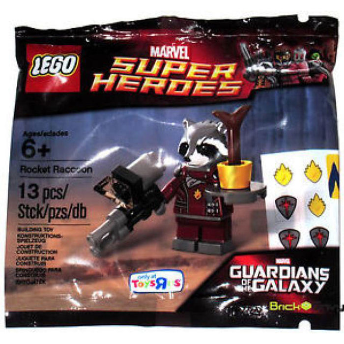 Rocket Raccoon - LEGO Marvel Guardians of the Galaxy Minifigure Polybag Set