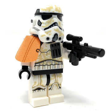 Sandtrooper Squad Leader w/ Pauldron - LEGO Star Wars Minifigure