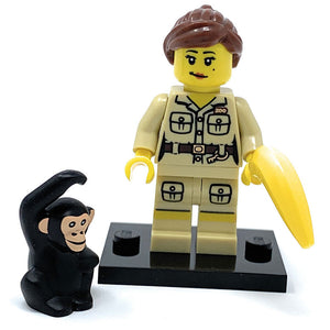 Zookeeper (Female) - LEGO Series 5 Collectible Minifigure