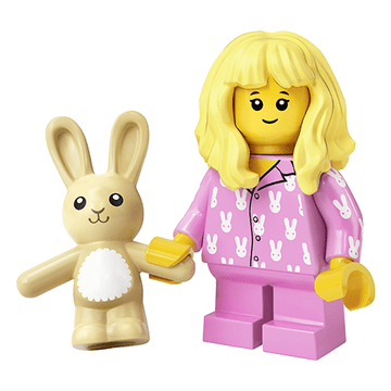 Sleepy Girl - LEGO Series 20 Collectible Minifigure