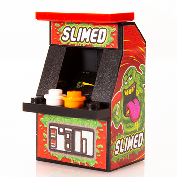 Custom LEGO Slimed Arcade Machine