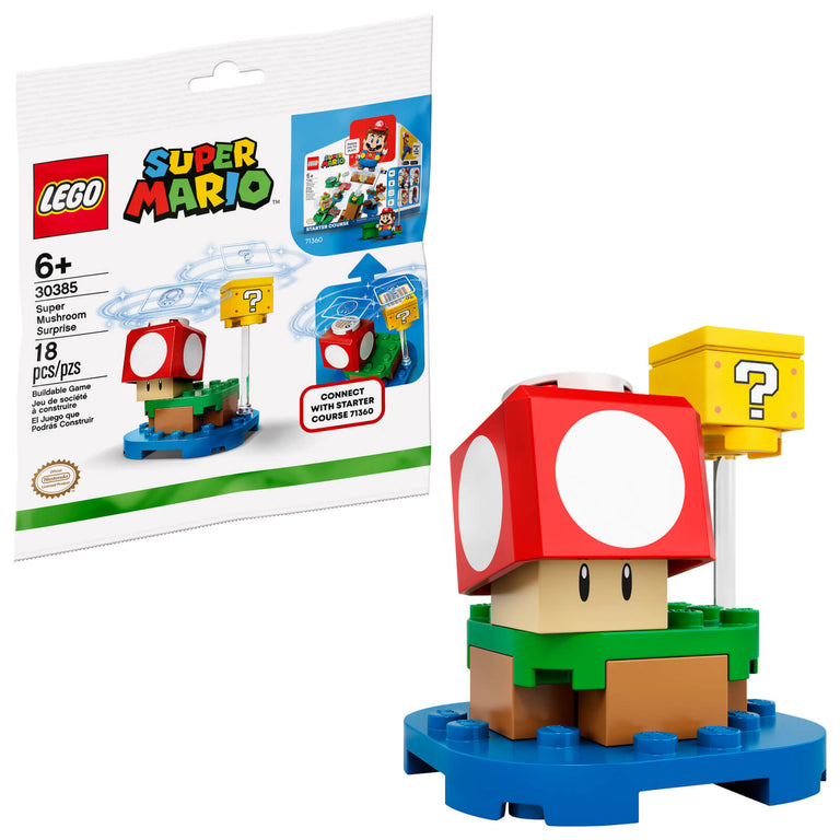 Super Mushroom Surprise - LEGO Super Mario Polybag Set (30385)