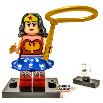 Wonder Woman (Classic 1941) - LEGO DC Comics Collectible Minifigure (Series 1)