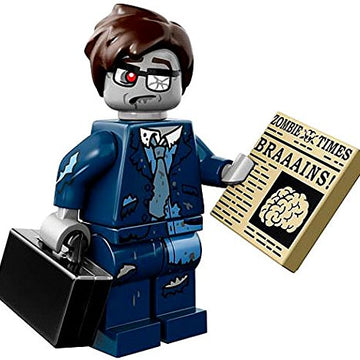 Zombie Businessman - LEGO Series 14 Collectible Minifigure