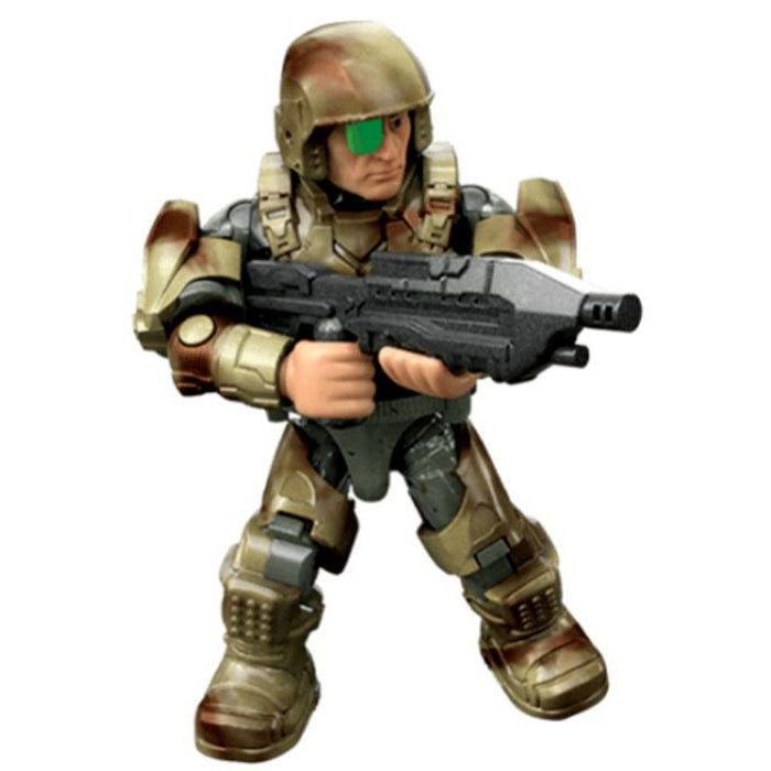 Marine (CAMO Armor) - Mega Construx Halo Micro Figure (Clash on the Ring)