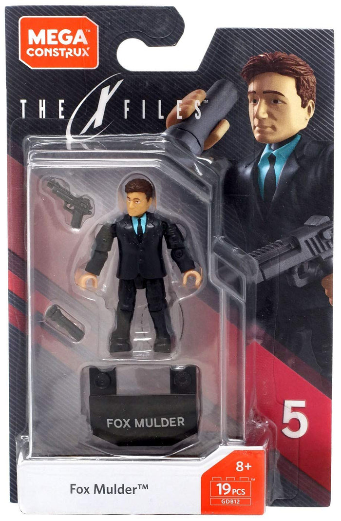 Fox Mulder - Mega Construx X-Files Series 5 Figure Pack