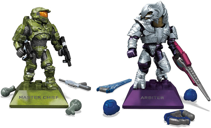 Master Chief vs. Arbiter - HALO Mega Construx Set