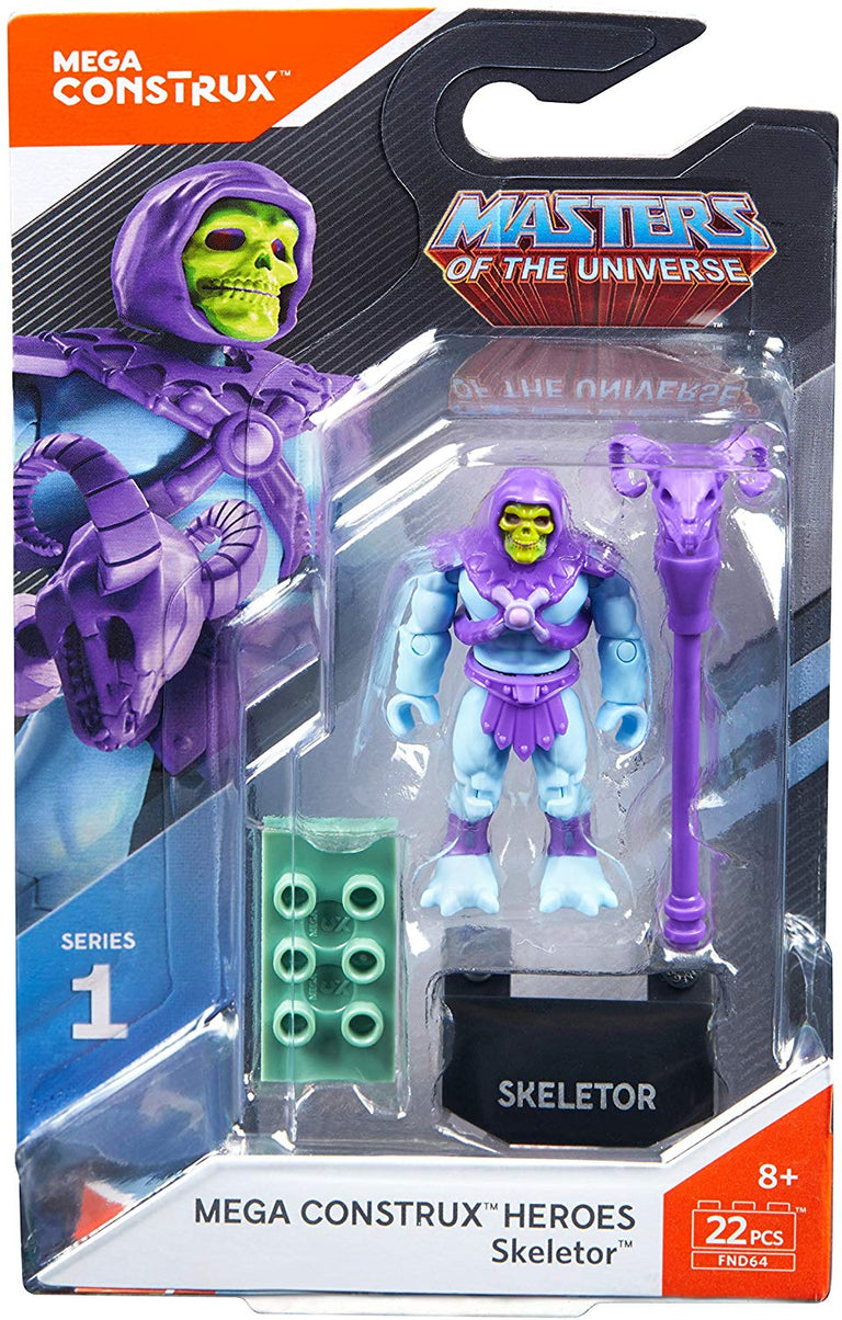 Skeletor - Mega Construx Masters of the Universe Series 1 Figure Pack