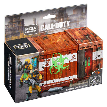 Hazmat Lab Armory Crate - Mega Construx Call of Duty Set