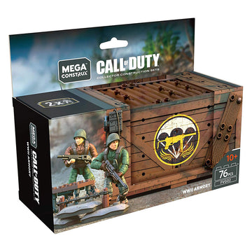 WWII Armory Crate - Mega Construx Call of Duty Set
