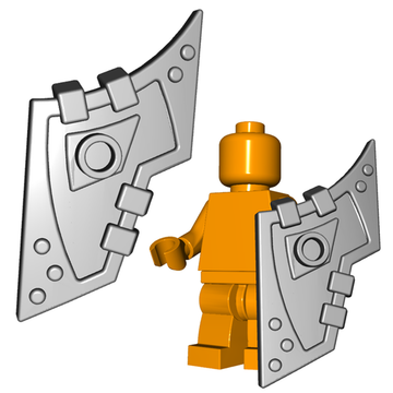 Orc Tower Shield for LEGO minifigures