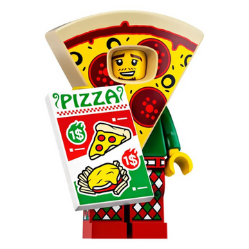 Pizza Costume Guy - LEGO Series 19 Collectible Minifigure