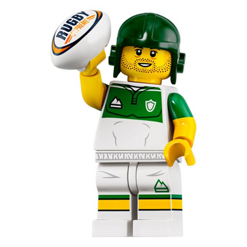 Rugby Player - LEGO Series 19 Collectible Minifigure