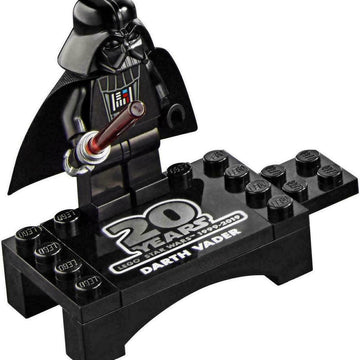 Darth Vader w/ Stand - LEGO Star Wars Minifigure (20th Anniversary)