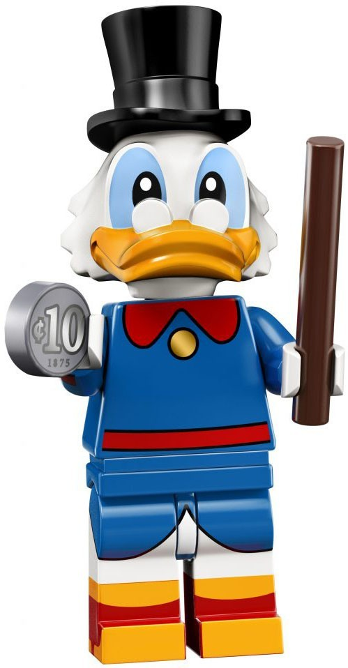 Scrooge McDuck - LEGO Disney Collectible Minifigure (Series 2)