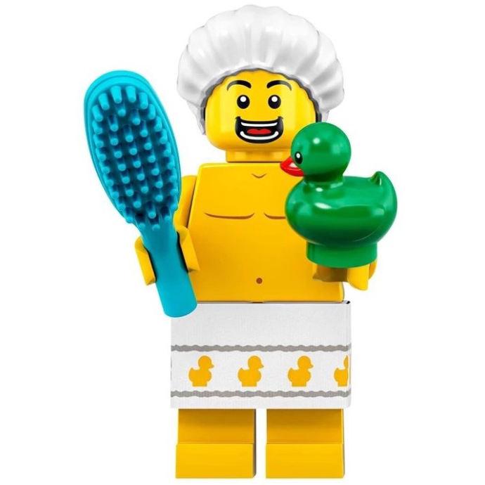 Shower Guy - LEGO Series 19 Collectible Minifigure