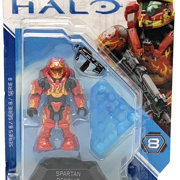 Spartan Recruit - Mega Construx Halo Heroes Series 8 Figure Pack