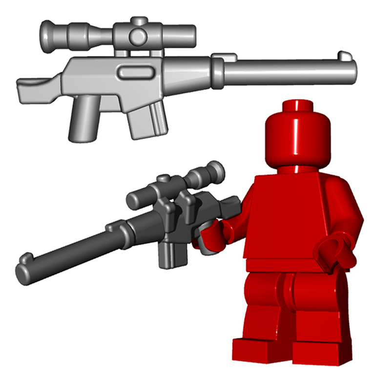 Supressed Sniper - Brick Warriors