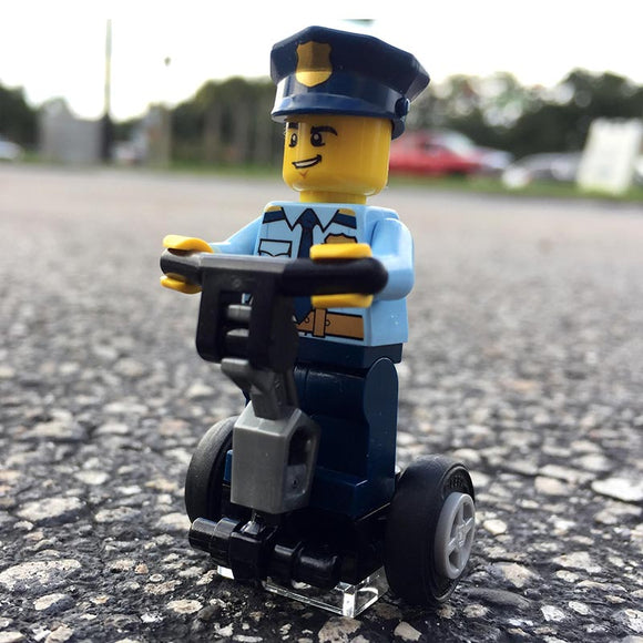 Mall Cop! LEGO Segway with Police Officer Minifigure