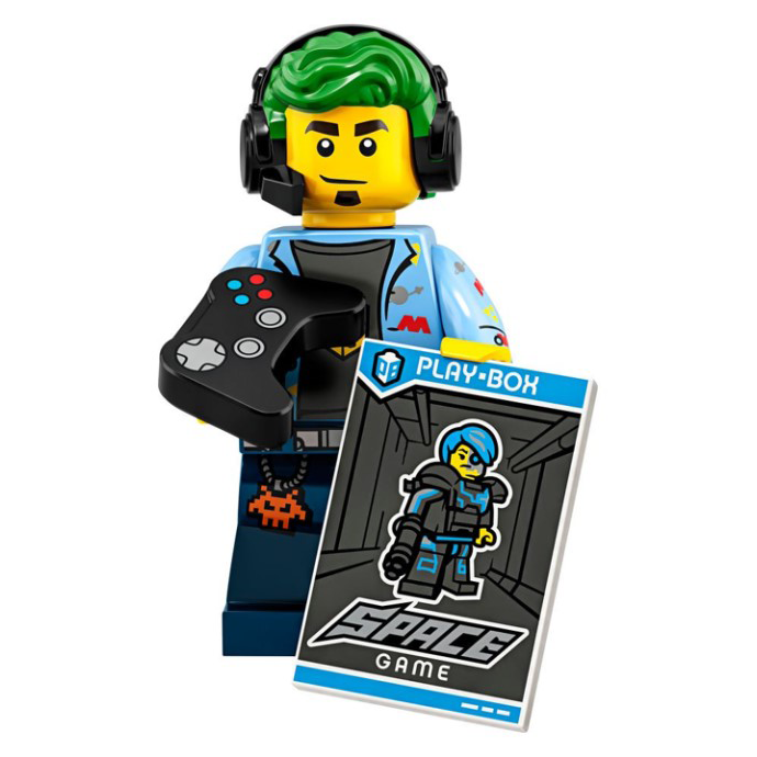 Video Game Champ - LEGO Series 19 Collectible Minifigure