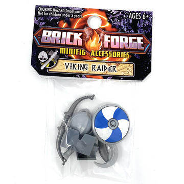 Viking Raider Berserker Minifig Accessory Pack - BrickForge