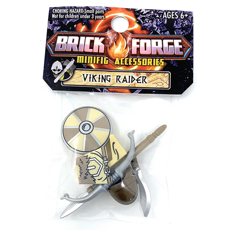 Viking Raider Minifig Accessory Pack - BrickForge