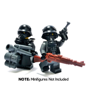 German WW2 Flame Trooper LEGO Minifigure Pack