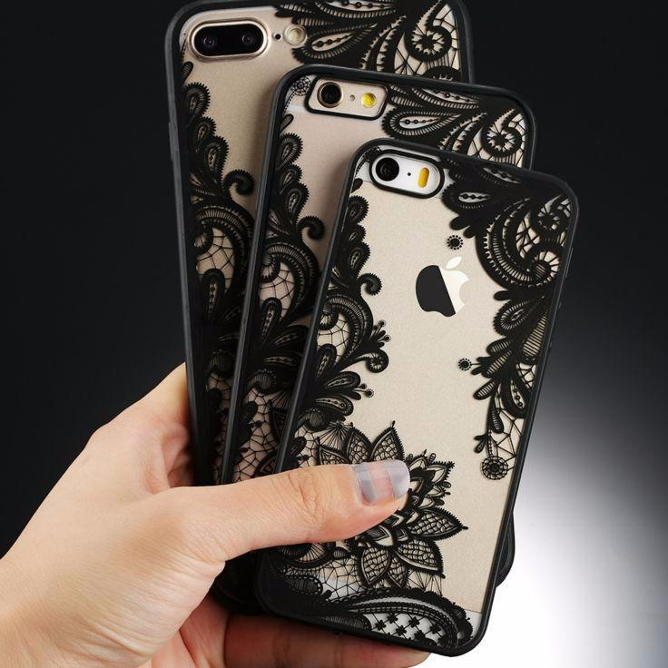 Sexy Retro Floral Phone Case For Apple iPhone