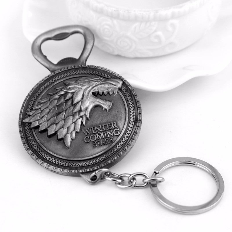 Game of Thrones Bottle Opener Keychain