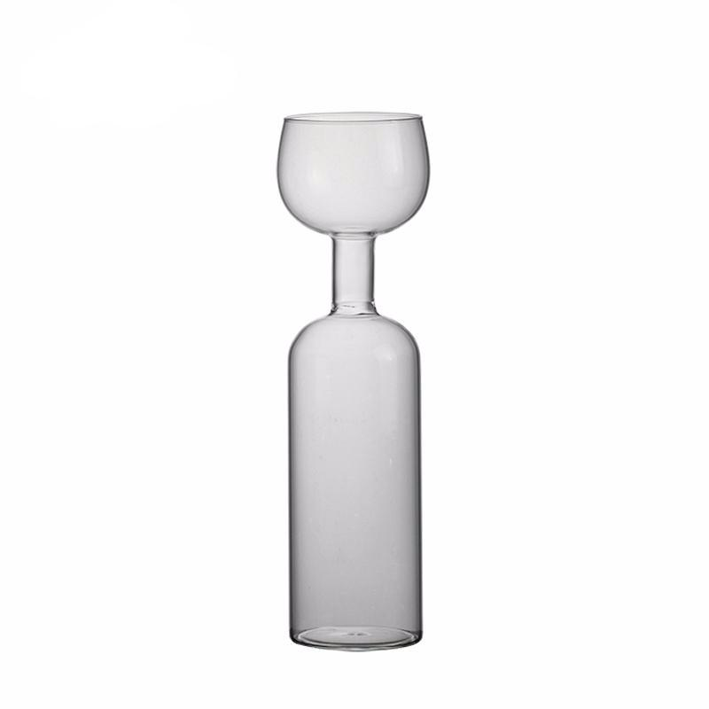 Ultimate Wine Bottle Glass Holds a Whole Bottle Drink 750ml