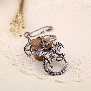 Game of Thrones Targaryen Dragon Necklace & Pendant
