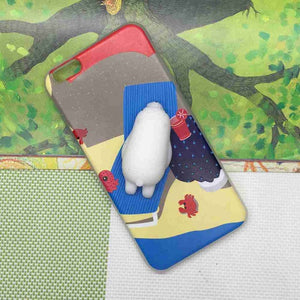 3D SQUISHY CAT, BUNNY AND POLAR BEAR PHONE CASES