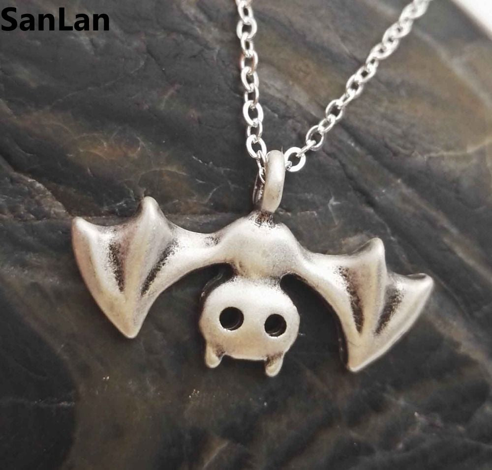 Halloween Bat Necklace