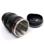 Camera Lens Cup Coffee Tea Mug Stainless Steel Vacuum Thermos