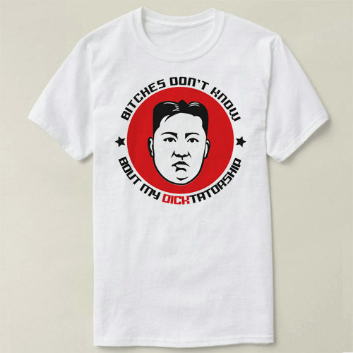 Kim Jong-un Short Sleeve Cotton T-Shirt